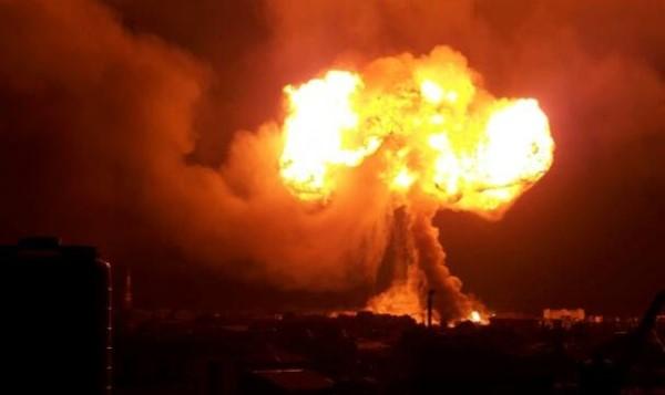 ghana explosion blessés