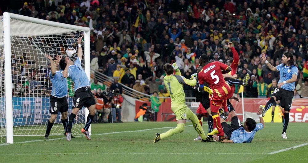 Uruguay - Ghana : Il y a huit ans, Luis Suarez joue au gardien et ...